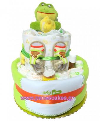 Πάνες Κείκ Βάτραχος, Diaper Cake