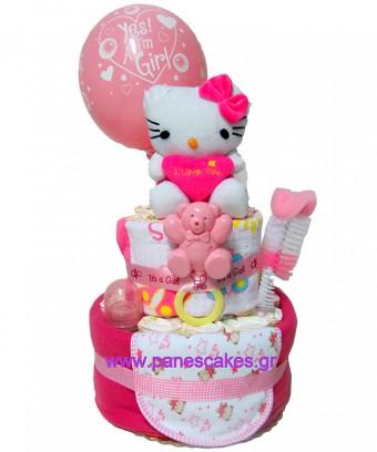 Τουρτοπάνα Hello Kitty Ροζ