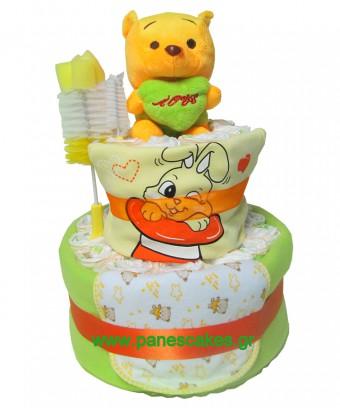Πάνες Κέικ Winnie, Diaper Cake, 35