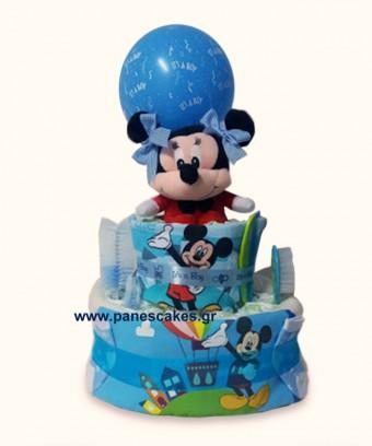 Diaper Cake Μίκι Μάους (καινούριο)