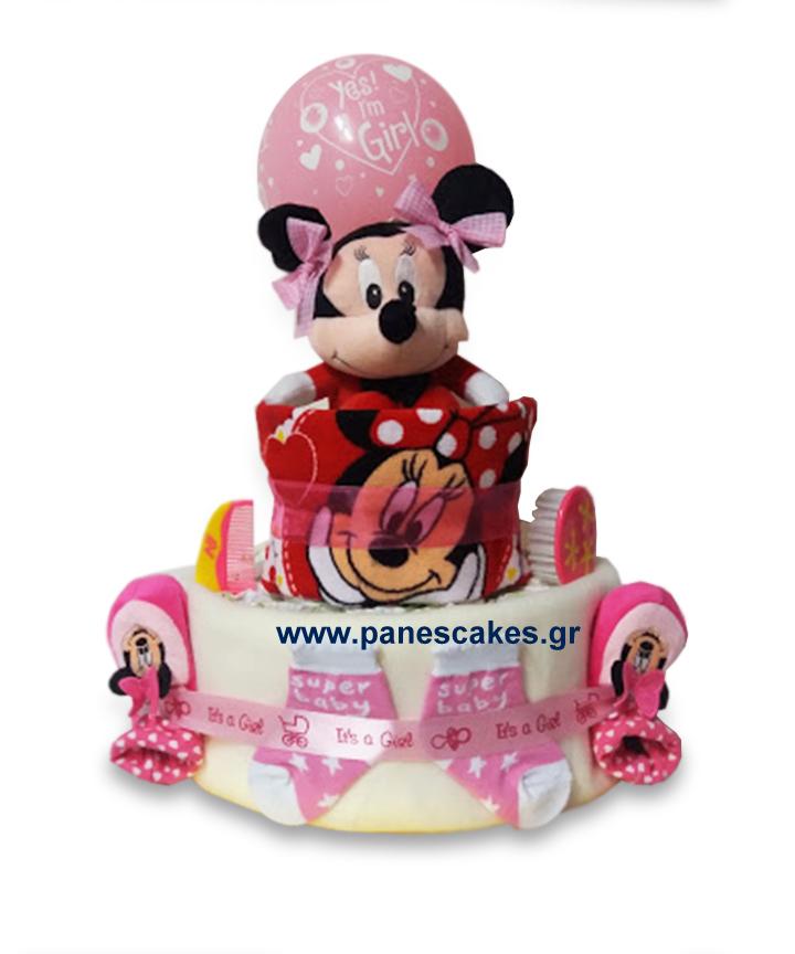 diaper cake Μινι Μάους