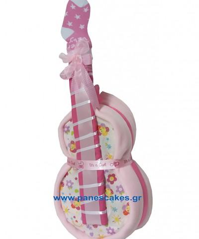 Κιθάρα με Πάνες Ρόζ