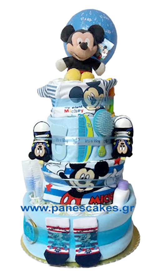 Diaper Cake Μίκι Μάους 3όροφος